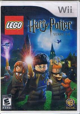 LEGO Harry Potter: Years 1-4 for Nintendo Wii - New & Sealed!