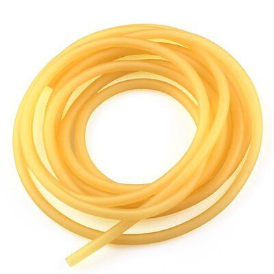 "1/4"" I.D. x 3/8"" O.D. Natural Latex Rubber Tubing"