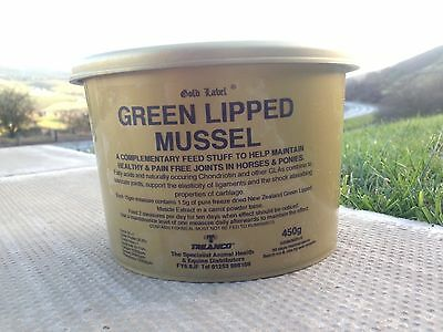 GREEN LIPPED MUSSEL GOLD LABEL Horse Joint Supplement 450g