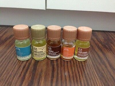 The Body Shop Home Fragrance Oil, Calm Water, Vanilla Spice, Coconut, Satsuma