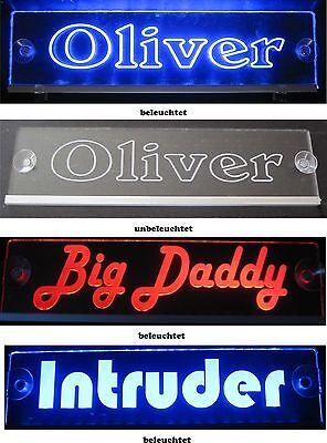 Name Sign, Car LED Actros Mercedes Volvo Iveco Renault Magirus