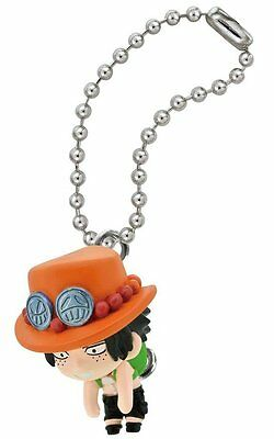 Bandai One Piece Pinche Connected Swing Mascot Part1 Portgas D Ace #A Figure