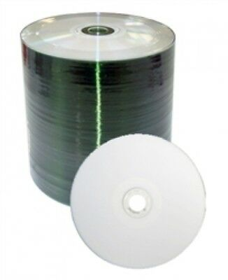 600 Grade A 52x CD-R 80min 700MB White Thermal Hub (Shrink Wrap)