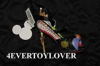 Disney Ornament new with tag VILLAINS EVIL QUEEN HIGH HEEL SNOW WHITE