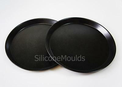 3 x Round BAKING TRAY for 12ltr Halogen Oven Cooker Spare Part Accessories Trays