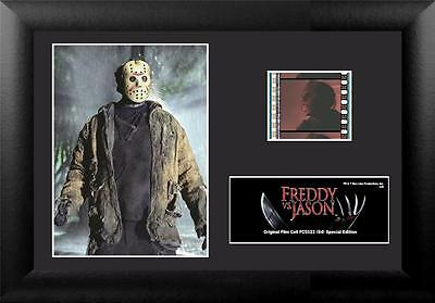 """JASON VOORHEES Freddy Vs Jason 2003 Horror Movie FILM CELL and PHOTO 5"""" x 7"""" New"""