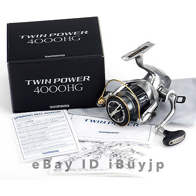 *NEW* Shimano 15 Twinpower 4000HG Saltwater Spinning Reel 033727
