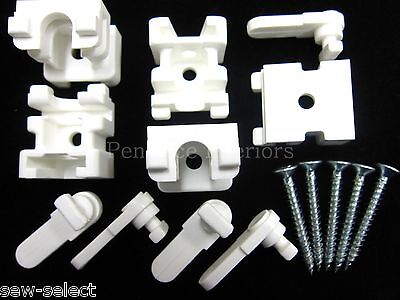 5 Swish curtain track brackets fits Deluxe Superluxe Supreme De Luxe rail parts