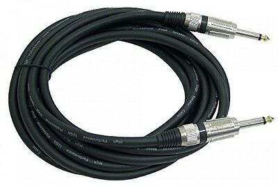 PYLE-PRO PPJJ15 - 15ft. 12 Gauge Professional Speaker Cable 1/4'' to 1/4'', New