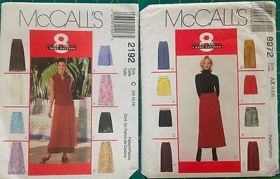 8 Great skirts 1 sewing pattern multi size and style options