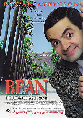 Mr Bean Vintage Movie Giant Poster - A0 A1 A2 A3 A4 Sizes