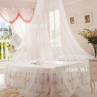 Net Canopy Bed Curtain Dome Fly Mosquito Insect Stopping Double Single Queen AU