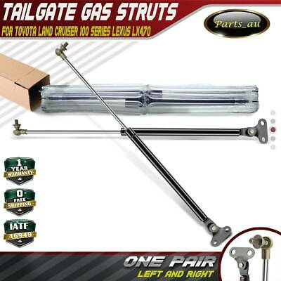Set of 2 Tailgate Gas Struts for Toyota Landcruiser 98-07 100 Series Lexus LX470