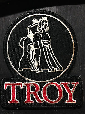 TROY INDUSTRIES TROJAN HORSE VELCRO PATCH SHOOTING M7 AR TACTICAL RIFLE DECAL