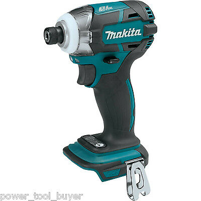 """Makita XDT09Z Brushless Compact 1/4"""" Impact Driver 18V Cordless 3-Speed Quick"""