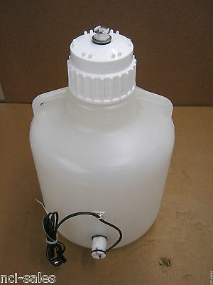 Nalgene 10 Liter Heavy Duty Polypropylene Carboy W/Handles & Float Switch