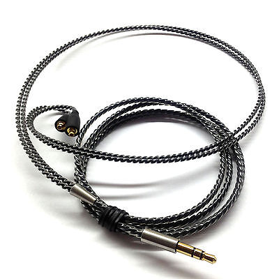 Silver Plated Cable for Westone Adventure ADV Alpha UM PRO 10 20 30 50 headphone