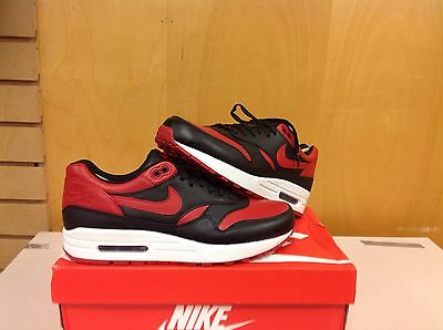 31f494369b5 Nike Air Max 1 Bred Premium Qs Valentines Day 665873-061 Size 7.5 With  Receipt