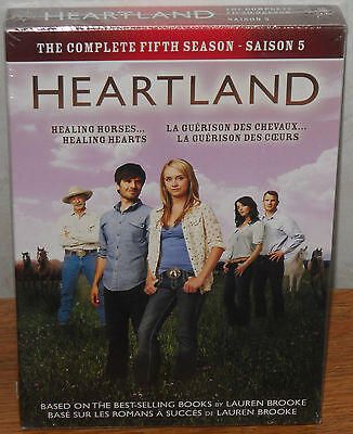Heartland: The Complete Season 5 (DVD, 2012, 5-Disc Set)  NEW FREE SHIPPING!!!