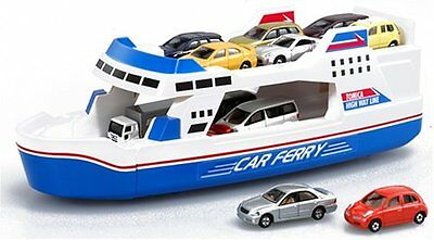 New Takara Tomy Tomica Big Ferry Boat DX Ship Toy Best Gift from Japan