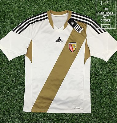 Racing Lens Shirt - Genuine Adidas RC Lens Football Jersey - Mens - All Sizes