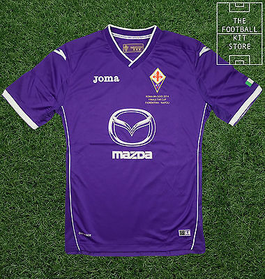Fiorentina Home Shirt - Copa Italia Special Edition Jersey - Mens - All Sizes