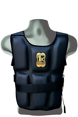 MMA Weighted Flex Jacket 14-16 KG Weight Training Fitness Vest Loss Running
