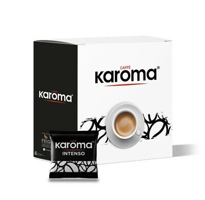 150 Italian Espresso Pods ESE. Karoma EXTRA STRONG! NEW! Easy Serve Pods!