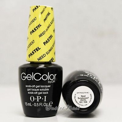Opi - Pastel Gelcolor - Need Sunglasses? - Pastel Collection 2014 - Gc104 hkUDr