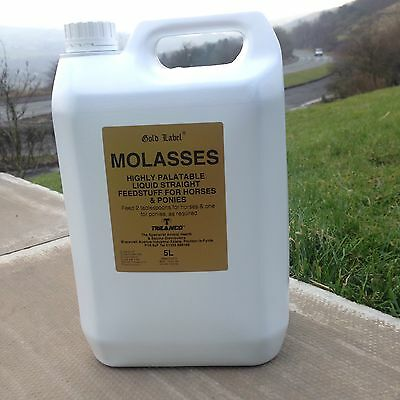 MOLASSES GOLD LABEL 5LT Horse Feed Supplement