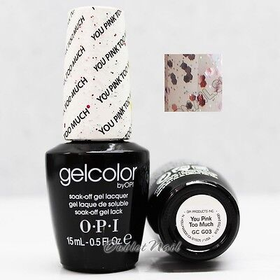 OPI GelColor - GC G03 YOU PINK TOO MUCH 15mL/ 0.5oz UV LED Gel Nail Polish