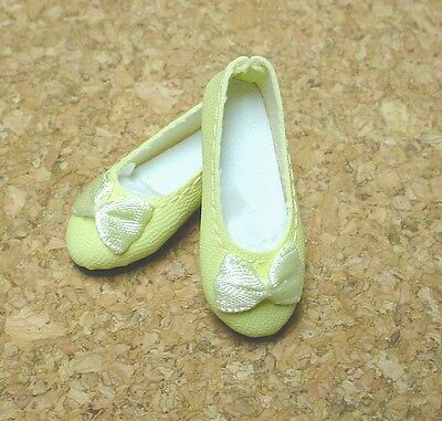 DOLL Shoes 44mm YELLOW  Ellowyne, Patience & NuMood Flats,