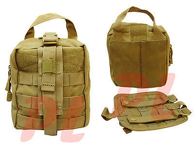 Molle Rip-Away EMT Pouch Medic First Aid Kit Tool Carrier Carrying Pouch-TAN