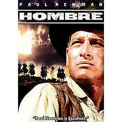 DVD Hombre Western Paul Newman Apache Tribe Classic Drama Bigotry Action NEW