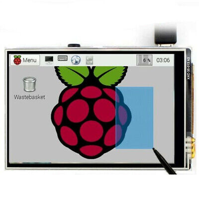 "3.5"" TFT LCD Touch Screen Module 320*480 RGB Display Board For Raspberry Pi 3"