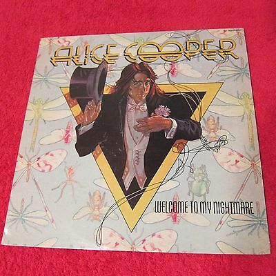 Alice Cooper - Welcome to my Nightmare - OZ White label Promo - RARE !!!!!