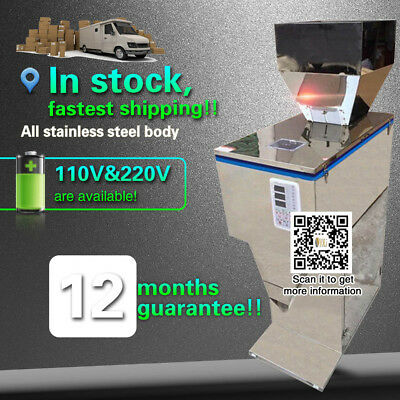 10-3000G automatic electric powder filling machine for packing flour/seeds/foods