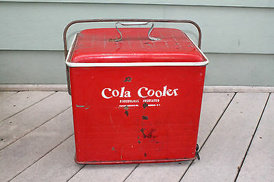 Vintage Cola Cooler made by Poloron Products Rochelle, New York, Opener, Coca