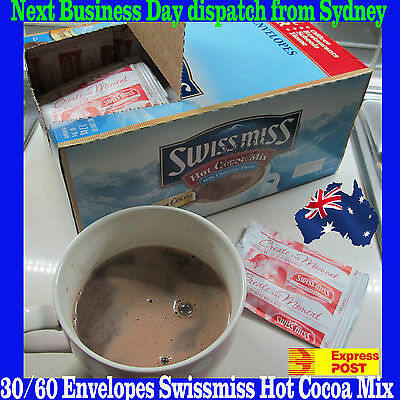 60 envelopes Swiss miss Hot Cocoa Mix(Milk Choco)-SYD + $1 Express post