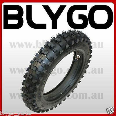 "GL 90/100- 16"" inch Rear Back Knobby Tyre Tire +Tube PIT PRO Trail Dirt Bike"