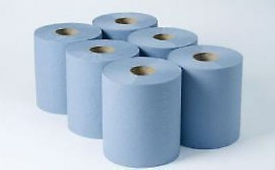 Centrefeed 2Ply Blue 150m (6) Disposable paper Hand towels, centre Pull