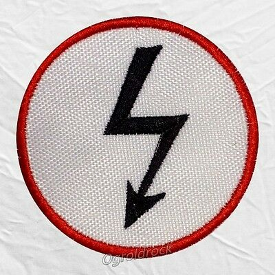 Marilyn Manson Remix & Repent Ray Logo Embroidered Patch Antichrist Superstar