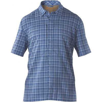 5.11 Covert Performance Mens Short Sleeve Shirt Concealed Carry Ccw Top Nautical