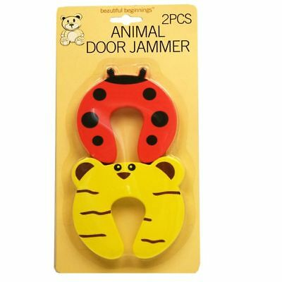 Beautiful Beginnings Animal Door Jammer (2 pack) Door Stop