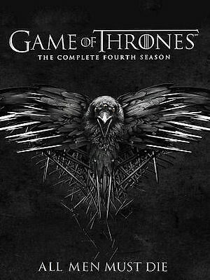 Game of Thrones: The Complete Fourth Season 4 (DVD, 2015, 4-Disc Set)