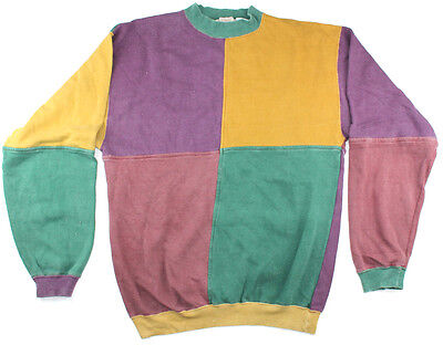 Mens Jumper Windcheater Vintage Size Small