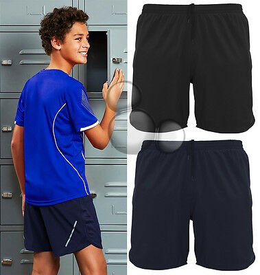 Kids Sport Shorts Size 6 8 10 12 14 16 School Training Running