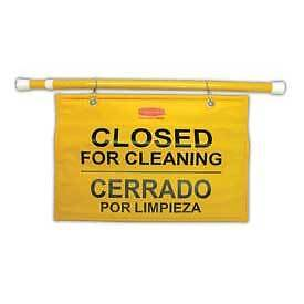 Rubbermaid 9S16 Site Safety Hanging Sign - Package Quantity 6