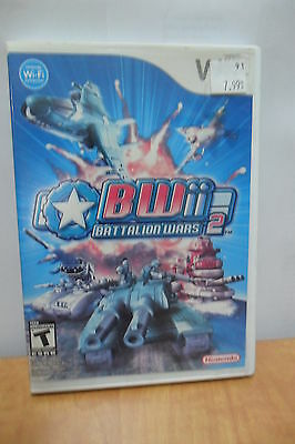 Battalion Wars 2 - Wii - Acceptable Condition - COMPLETE! -  Canadian Seller!