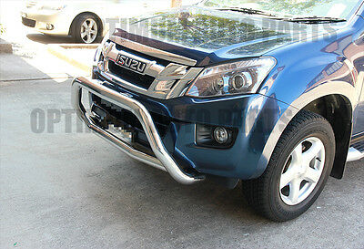 Isuzu D-MAX Dmax Stainless Steel Nudge Bar Grille Guard 2012-2017